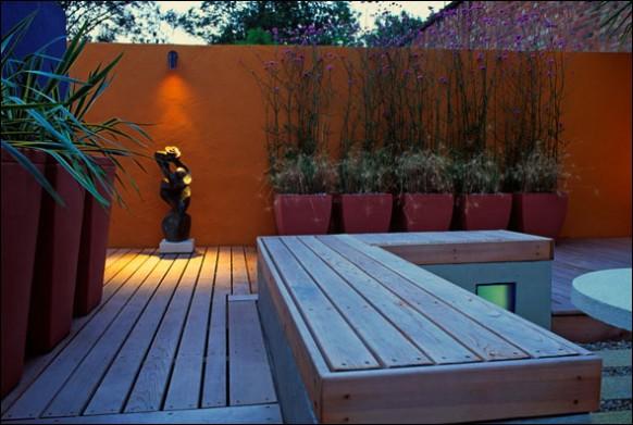 Ιδέες για σχεδιασμό αυλής, κήπου, Roofgarden
