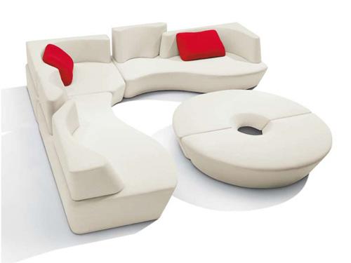 Πρακτικός αρθρωτός καναπές που ταιριάζει σε κάθε χώρο