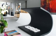 Μινιμαλιστικό Σπίτι και έργο τέχνης σε ένα