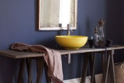 Πώς να προσθέσετε χρώμα στο μπάνιο σας