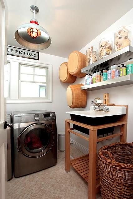 Διακοσμητικές ιδέες για δωμάτια πλυντηρίων ρούχων