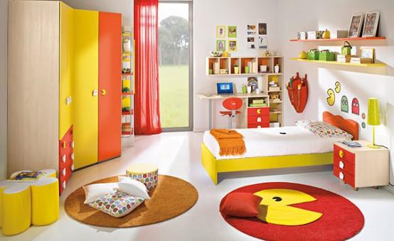 Ιδέες σχεδιασμού για χαρούμενα και πολύχρωμα παιδικά δωμάτια