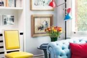 Φωτεινό διαμέρισμα σε μια ποικιλία χρωμάτων