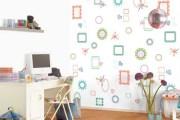 Όμορφες σχεδιαστικές ιδέες τοίχου για Παιδικά Δωμάτια