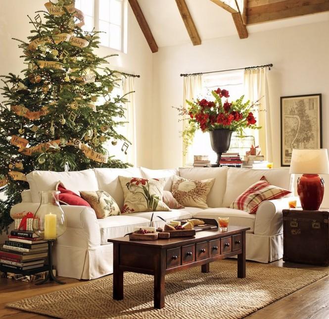 Διακοσμητικές συμβουλές για σύγχρονα Καλά Χριστούγεννα