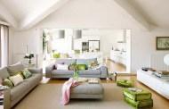 Φρέσκο διαμέρισμα γεμάτο χρώμα και έμπνευση στις λεπτομέρειες