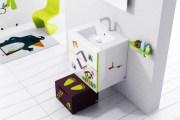 Μοντέρνες Ιδέες διακόσμησης παιδικού μπάνιου από τη Sonia