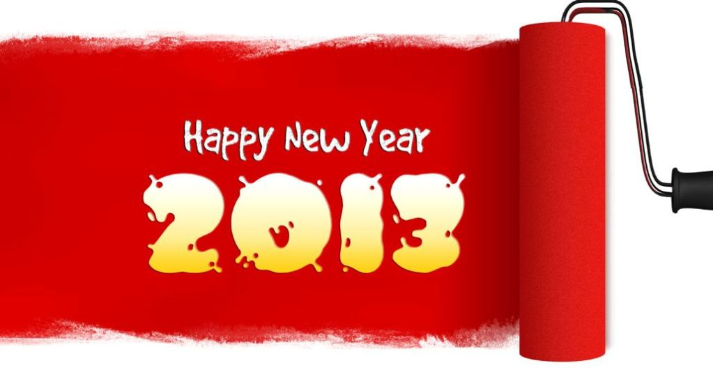 Χρόνια πολλά και ευτυχισμένο 2013