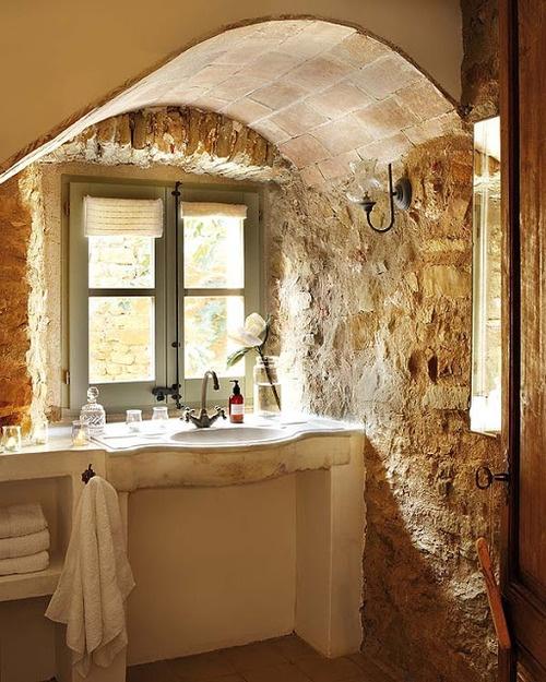 ιδέες σχεδιασμού μπάνιου από φυσική πέτρα11