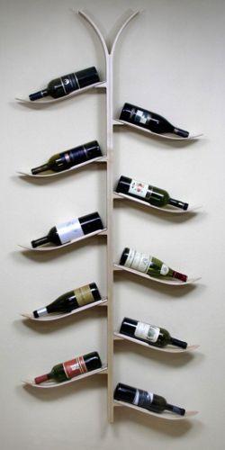 Diy κατασκευές με ράφια για κρασιά