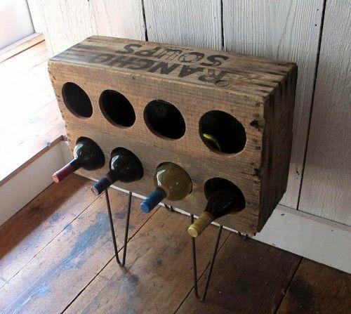 Diy κατασκευές με ράφια για κρασιά3