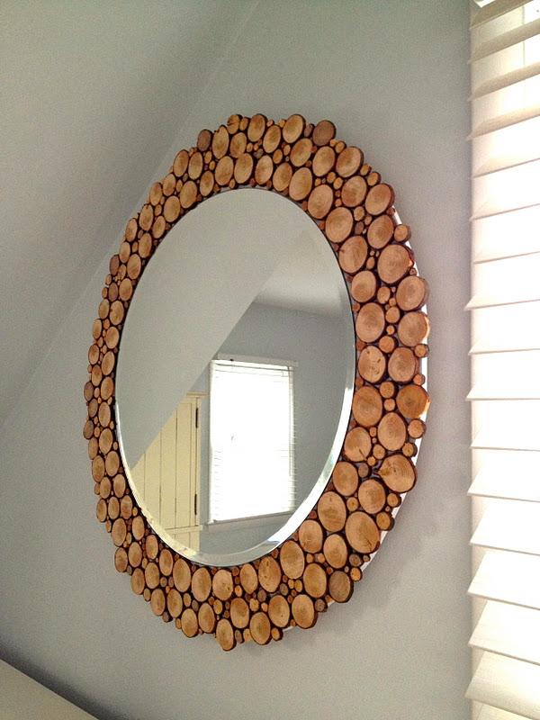 Diy Καθρέπτης από κομμένα κλαδιά