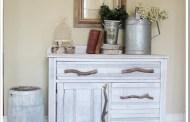 Απίστευτη μετατροπή παλιού ντουλαπιού σε έργο τέχνης