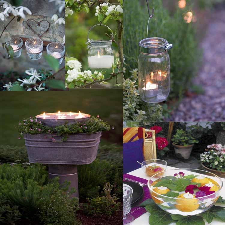 Όμορφες, απλές καλοκαριρινές ιδέες για φωτισμό κήπου