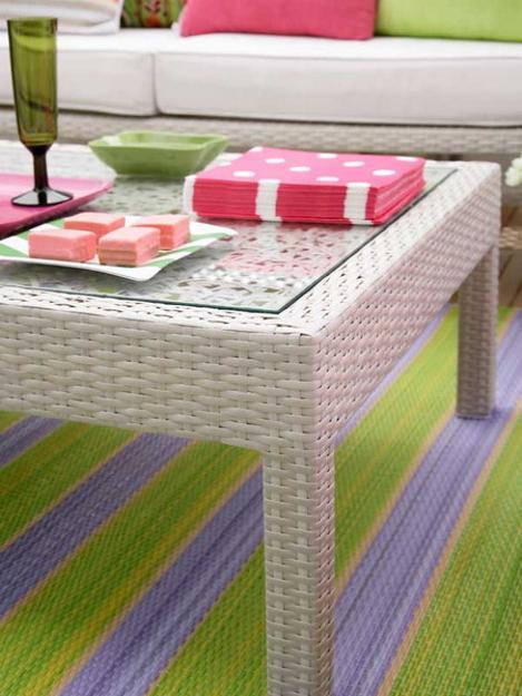 ροζ και πράσινοι συνδυασμοί χρωμάτων για την εξωτερική διακόσμηση6