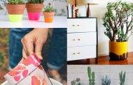 11 Πρωτότυπες Diy ιδέες για δοχεία και γλάστρες