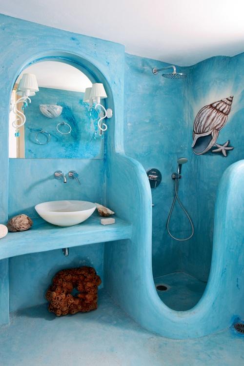 25 Εμπνευσμένα σχέδια θαλασσινής διακόσμησης για υπνοδωμάτια και μπάνια