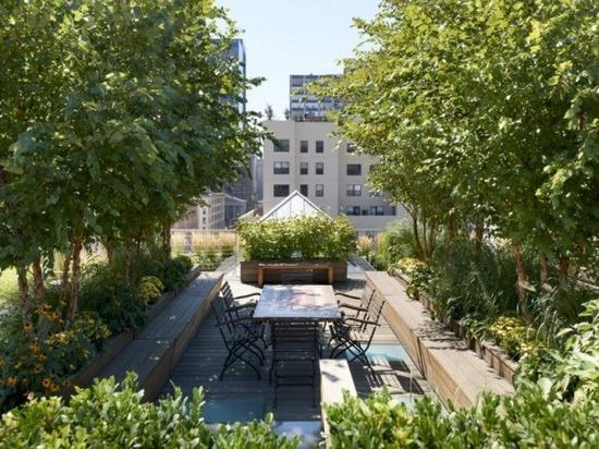 ιδέες για Κήπους στην ταράτσα 13
