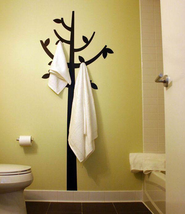 ιδέες για να οργανώσετε και να εκθέσετε τις πετσέτες στο μπάνιο σας5