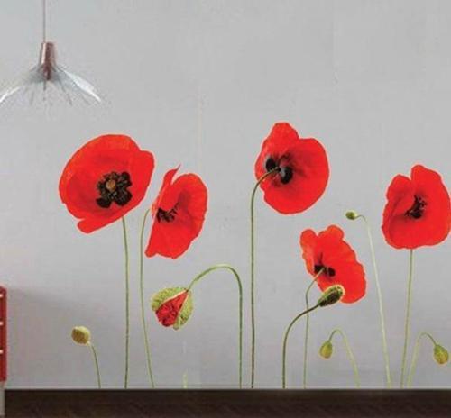 ιδέες με λουλούδια παπαρούνας στη διακόσμηση του σπιτιού σας12