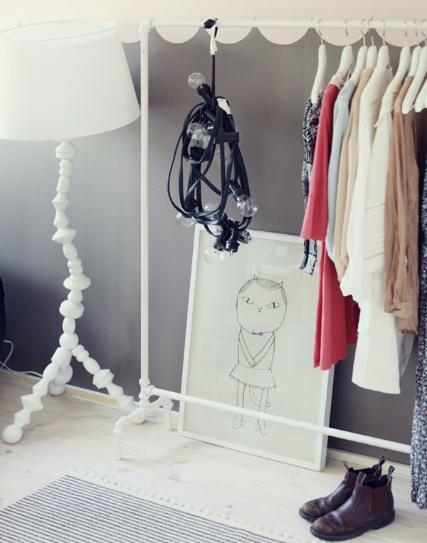 DIY ιδέες αποθήκευσης ρούχων19
