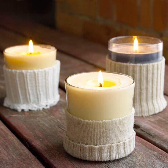 Υπέροχες Diy Ιδέες με Κεριά και κηροπήγια15