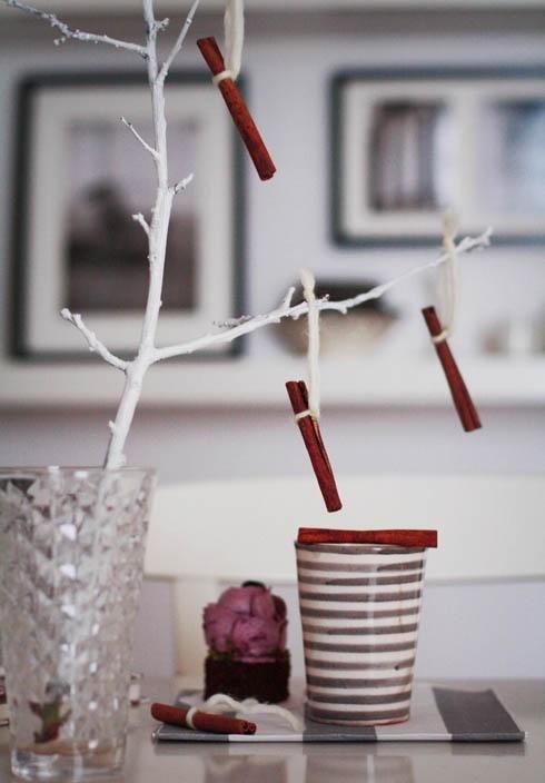 Υπέροχες Αρωματικές Ιδέες Χριστουγεννιάτικής Διακόσμησης με ραβδάκια κανέλας23