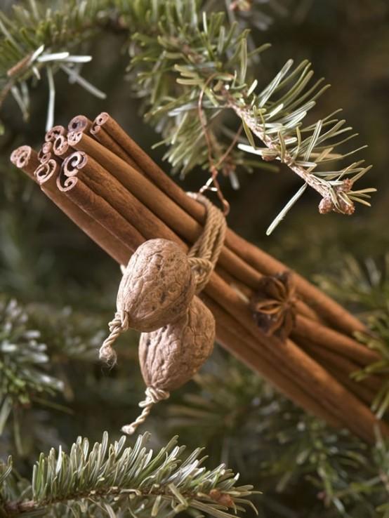 Υπέροχες Αρωματικές Ιδέες Χριστουγεννιάτικής Διακόσμησης με ραβδάκια κανέλας37
