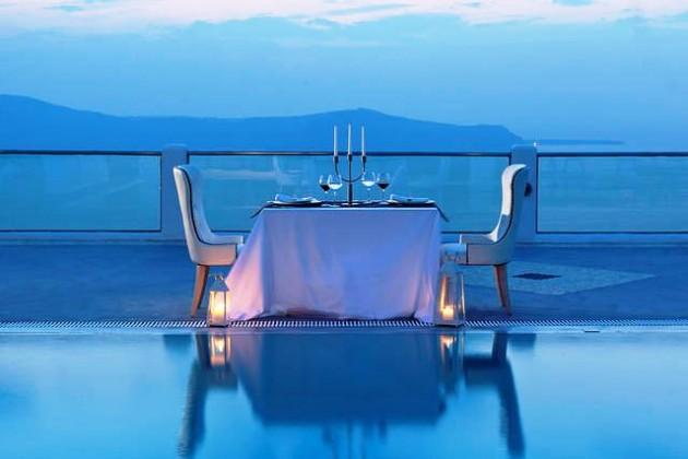 ιδέες για ρομαντικό Τραπέζι σε εξωτερικό χώρο8