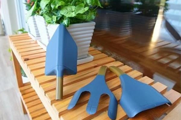 εργαλεία για τον κήπο σας από πλαστικά μπουκάλια6