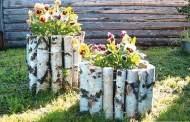 Ασυνήθιστα δοχεία με λουλούδια για να προσθέσετε ένα διασκεδαστικό σχεδιασμό στην αυλή και τον κήπο σας αυτό το καλοκαίρι