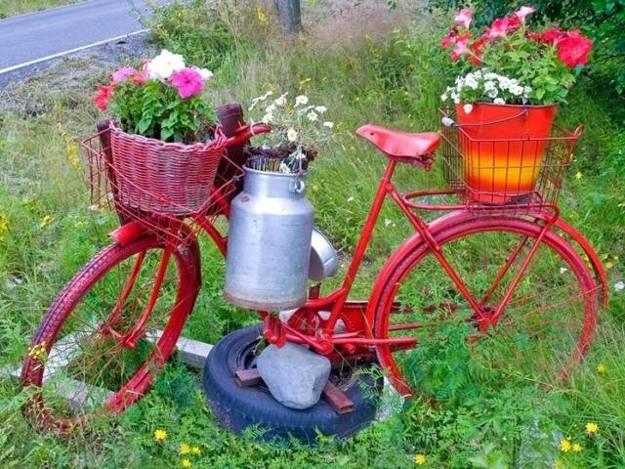 ασυνήθιστα δοχεία και γλάστρες για λουλούδια9