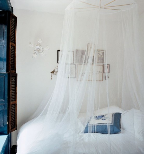 ιδέες με Κουνουπιέρες για την κρεβατοκάμαρά2
