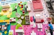 Εξαιρετικά δημιουργικό Κατακόρυφο Διαμέρισμα Εκθετήριο: IKEA αναρρίχηση τοίχου στη Γαλλία