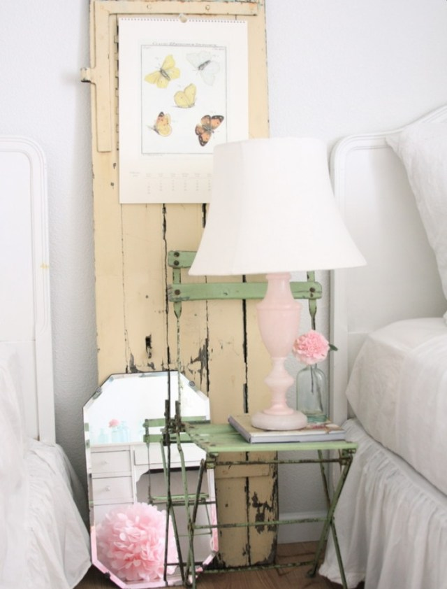 shabby chic διακόσμηση ιδέες15