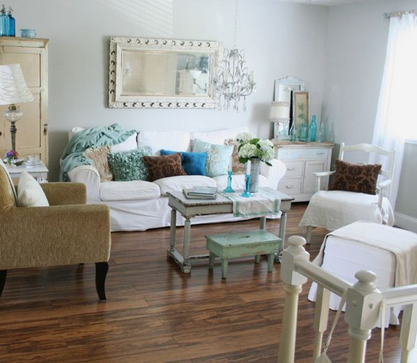 shabby chic διακόσμηση ιδέες9