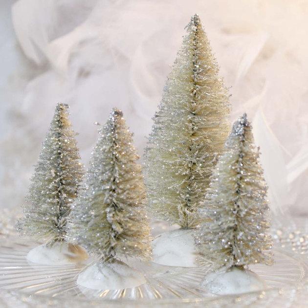 Επιτραπέζια χριστουγεννιάτικα δέντρα14