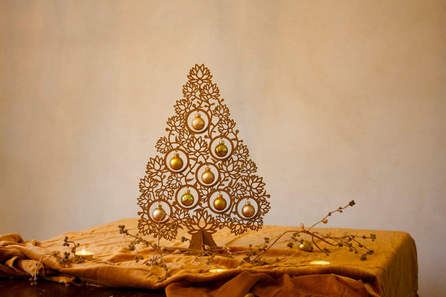 Επιτραπέζια χριστουγεννιάτικα δέντρα6