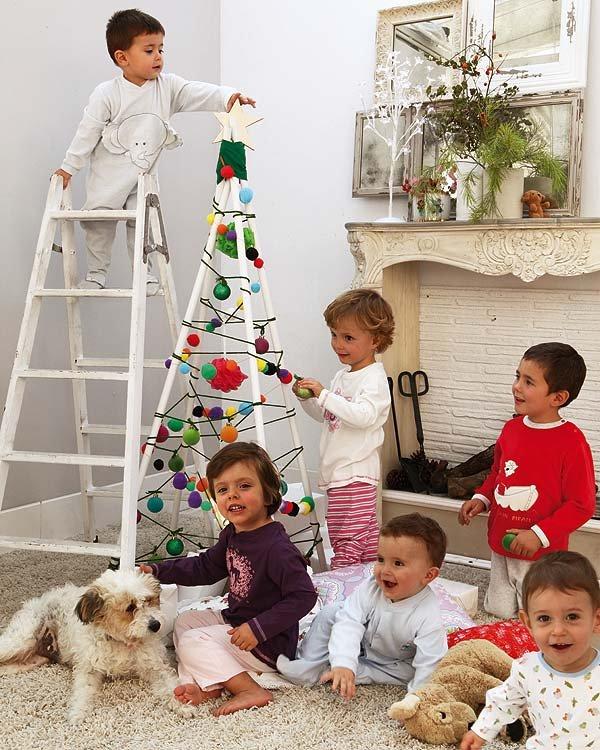 Πρωτότυπα μοδάτα χριστουγεννιάτικα δέντρα1