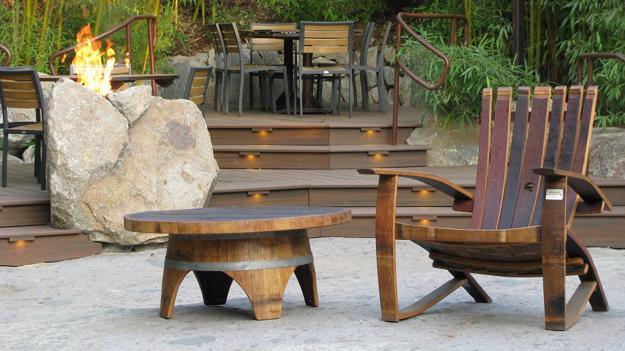 μοντέρνα έπιπλα από πέτρα και ξύλο7