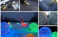 Πώς να κάνετε γιγάντιες Χριστουγεννιάτικες Φωτό Μπάλες για τους εξωτερικούς σας χώρους