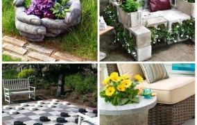 10 Εντυπωσιακά DIY έργα βελτίωσης της αυλής και του κήπου σας αυτή την άνοιξη