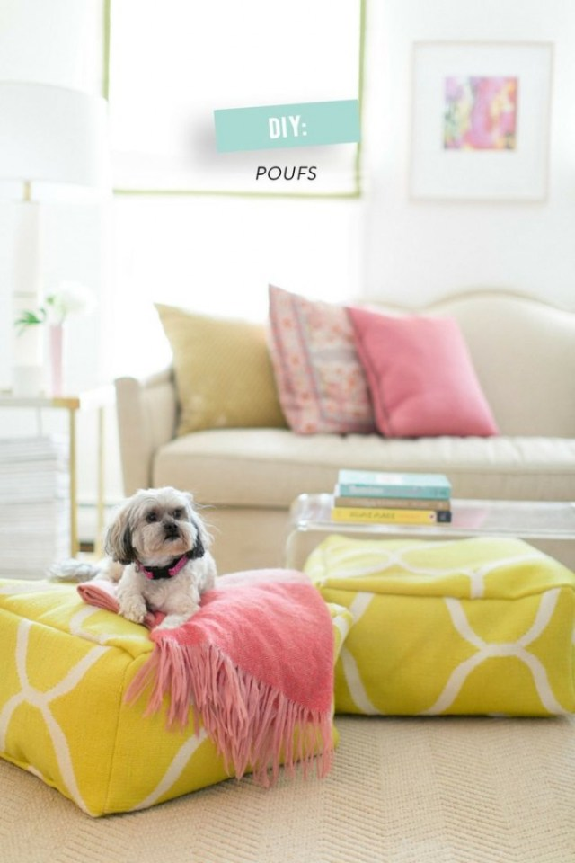 Diy ideas with pouf4