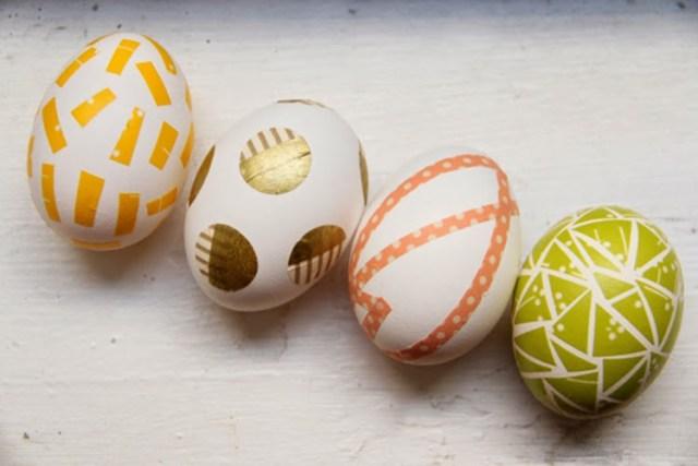 μοντέρνες ιδέες για Πασχαλινά αυγά8