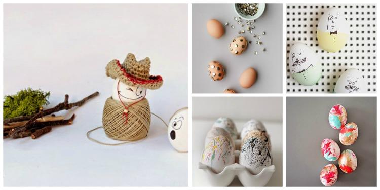 12 μοντέρνες ιδέες για Πασχαλινά αυγά