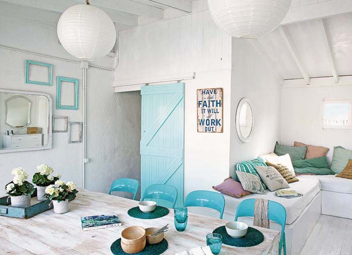 Vintage τόνοι και παστέλ χρώματα σε ένα απίθανο σπίτι στη Βαρκελώνη6