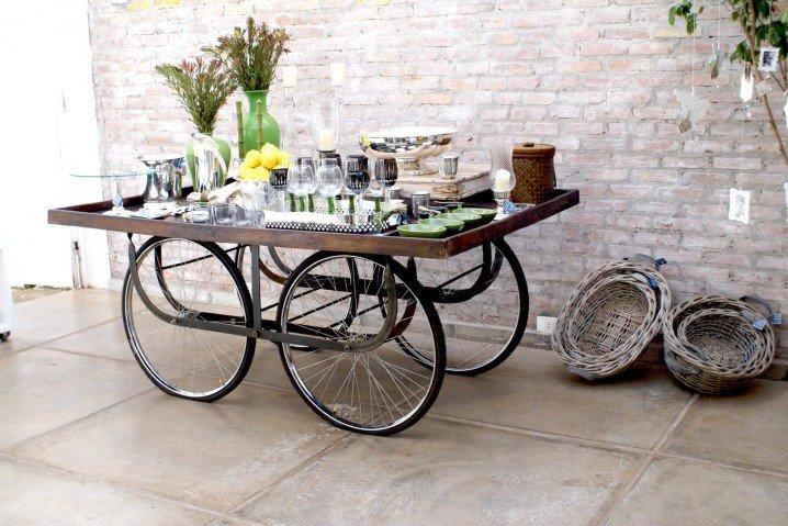 ιδέες ανακύκλωσης από παλιά μέρη ποδηλάτου9