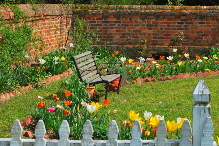 Ανοιξιάτικη ανακαίνιση κήπου ιδέες (7)