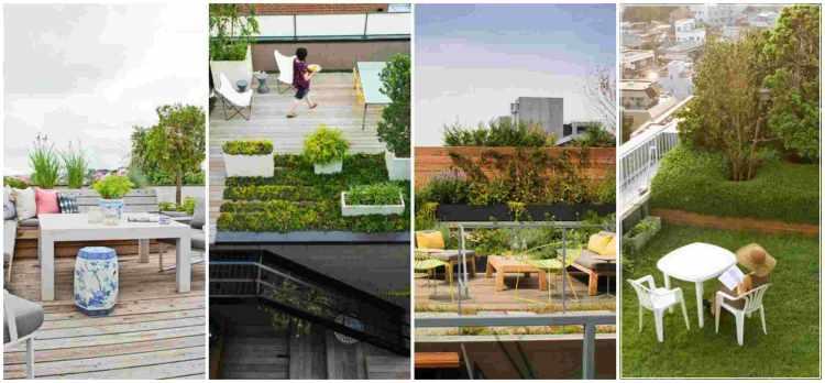 Κήπος στην ταράτσα ιδέες