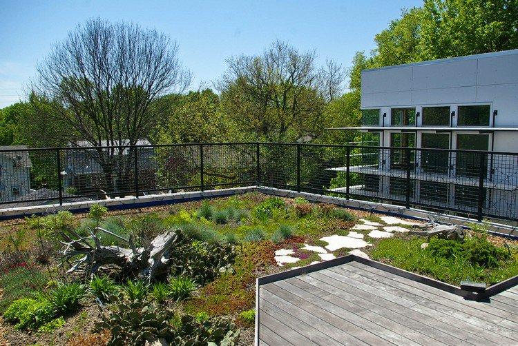 Κήπος στην ταράτσα ιδέες38